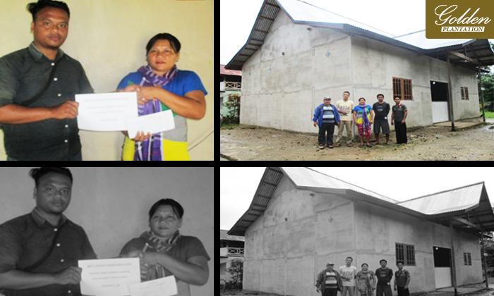Bantuan Pembangunan Gereja GKNI Batani Desa Jambu Tembawang