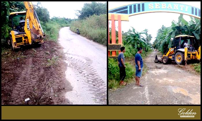 Cleaning Side Road & Drainage Improvement District of Pulau Laut Barat – BRI Estate
